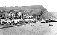 Sidmouth, From The Sea 1924
