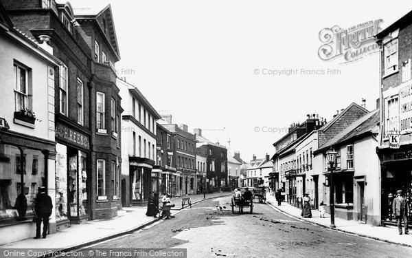 Photo of Sidmouth, High Street 1906