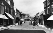 Sidmouth, High Street 1918