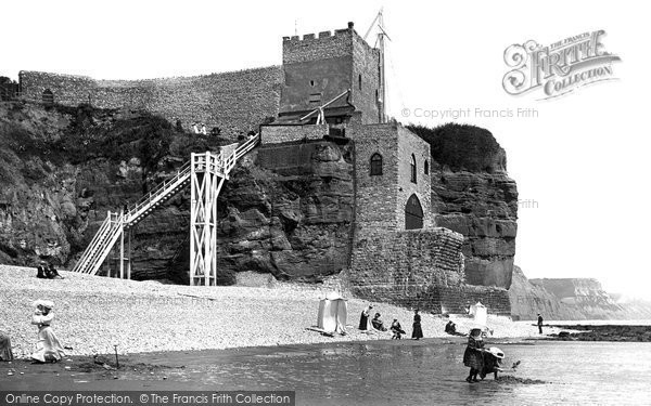 Photo of Sidmouth, Jacobs Ladder 1907, ref. 58062