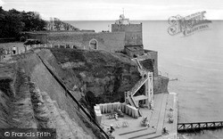 Sidmouth, Jacob's Ladder c.1936