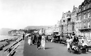 Sidmouth, Looking West 1924