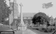 Sidmouth, Parish Church Of St Giles And War Memorial 1924