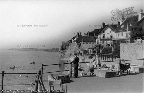 Photo of Sidmouth, Pretty Corner c.1955