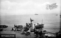 Sidmouth, The Ferry 1924
