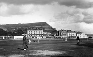 Sidmouth, The Tennis Courts 1918