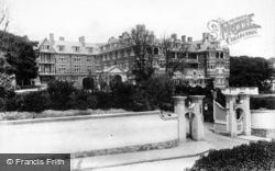 Sidmouth, The Victoria Hotel 1907