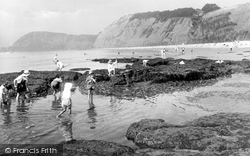 Sidmouth, The Western Bay 1924
