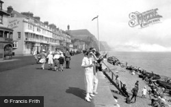 Sidmouth, York Terrace 1924