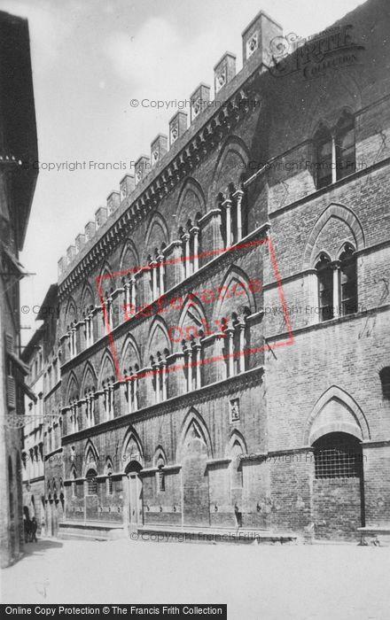 Photo of Siena, Palazzo Buonsignori c.1920