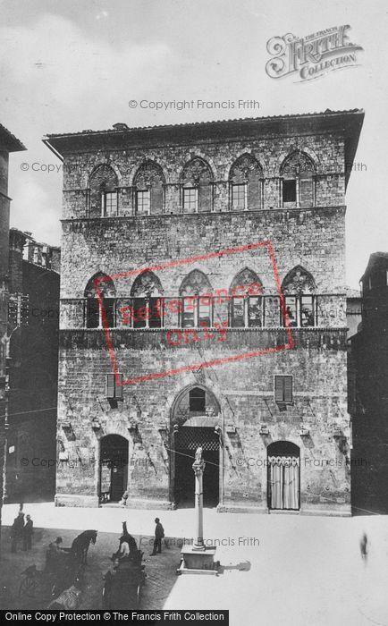 Photo of Siena, Palazzo Tolomei c.1920