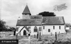 Silchester, St Mary The Virgin Church c.1965