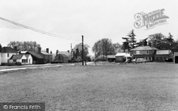 Silchester, The Crown Inn And Village c.1965