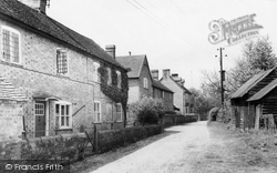 Silchester, The Lane c.1965