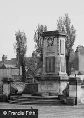 Sileby, the War Memorial c1960
