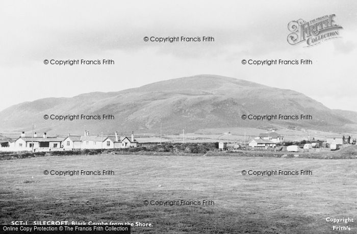 Photo of Silecroft, Black Combe From The Shore c.1955