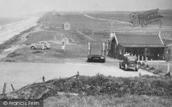 Silecroft, Car Park c.1950