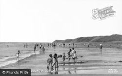 Silecroft, On The Beach c.1960