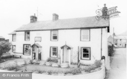 Silecroft, The Post Office c.1960