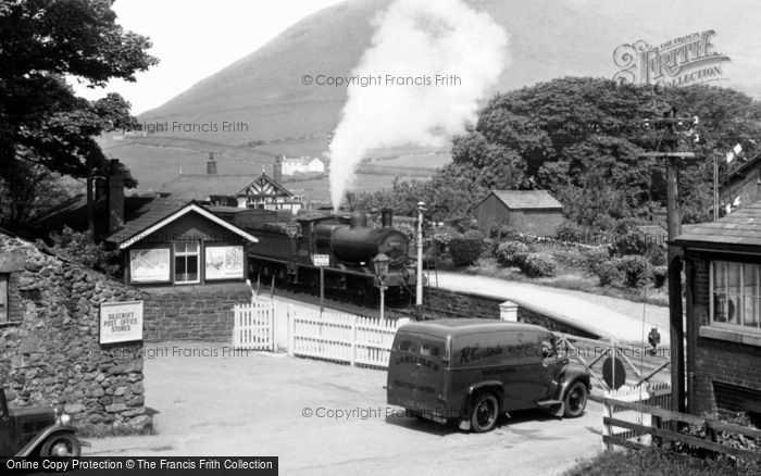 Photo of Silecroft, The Railway Station c.1955