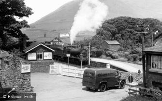 Silecroft, the Railway Station c1955