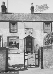 Silecroft, The Village Shop And Post Office c.1955
