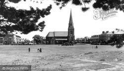 Silloth, Christ Church c.1955