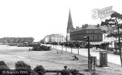 Silloth, Criffel Street And The Green c.1955