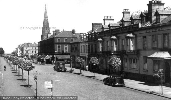 Photo of Silloth, Criffel Street c1955, ref. S658001