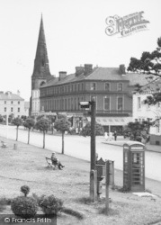 Silloth, Criffel Street From The Green c.1955