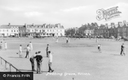Silloth, Putting Green c.1950