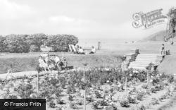 Silloth, Rose Garden c.1950
