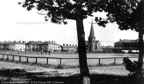 Photo of Silloth, the Green c1955, ref. S658011