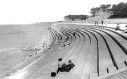 Silloth, the Promenade c1955