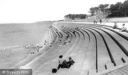 Silloth, The Promenade c.1955