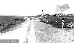 Silloth, The Promenade, Skinburness c.1955