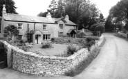 Silverdale, Old Cottages near Beach, Cove Lane c1965