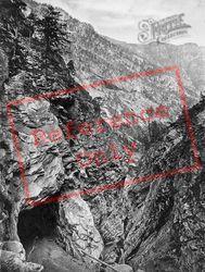 Simplon Road, Gallery Of Gondo c.1860, Simplon