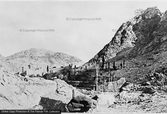 Photo of Sinai, Approach To The Convent Of Sinai, Foot Of Mount Horeb 1858