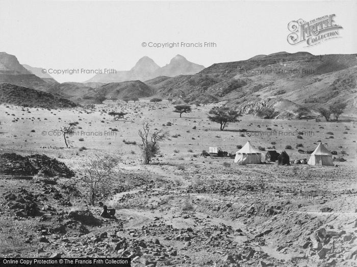 Photo of Sinai, Camping Place In The Wilderness Of Sinai 1858
