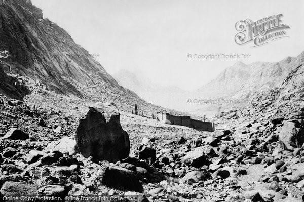 Photo of Sinai, Convent Of Sinai 1858