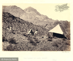 Sinai, The Summit Of Gebel Moosa 1858
