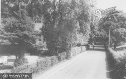 Singleton, The Road Through The Village c.1960