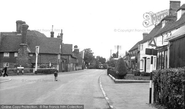 Sissinghurst, High Street c1960