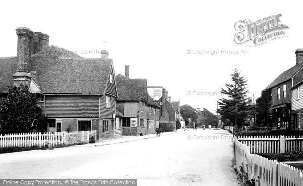 Photo of Sissinghurst, The Village 1902