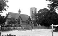 Sissinghurst, church and schools 1902