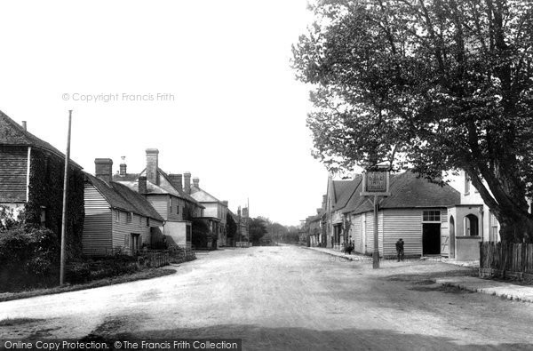 Sissinghurst, Village 1903