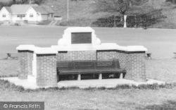 Sittingbourne, Gore Park Seat c.1960