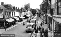 Sittingbourne, High Street 1961