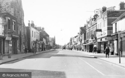 High Street c.1955, Sittingbourne